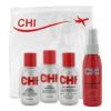 Chi Infra szett: sampon 60 ml, hajápoló 60 ml, + spray 60 ml (633911671276)