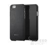 Mozo Apple iPhone 6/6s bőr hátlap tok, fekete tok és táska