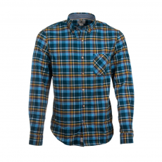 TIMBERLAND Long Sleeve Flanell Contemporary Plaid Shirt Ing D (A1B10-p_C10-Niagara YD)