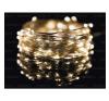 Life Light Led ÚJDONSÁG! 100db-os NANO DESIGN mini fonalled, meleg fehér, dekorációs célokra, beltérre 1 év garancia led karácsonyfa izzósor