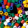 Hama vasalható gyöngy - 500 db-os vegyes élénk színek Maxi