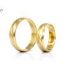Bicolor arany karikagyűrű
