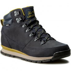 The North Face Bakancs THE NORTH FACE - Back-To-Berkeley Redux Leather T0CDL0NFE Urban Navy/Antique Moss Green
