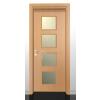 ÍRISZ 3 Dekorfóliás beltéri ajtó 100x210 cm