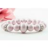 BBH Inspiration Swarovski pastel rose karkötő, kristály dísszel