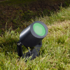 Fumagalli MINITOMMY SPIKE kültéri lámpa GU10 fekete - zöld (Lámpa)