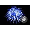 Karácsonyi dekoratív világítás - jégcsapok - 60 LED kék