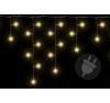 Karácsonyi világítő eső 72 LED meleg fehér - 2,7 m karácsonyfa izzósor