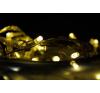 Karácsonyi LED világítás - 30 LED, meleg fehér karácsonyfa izzósor
