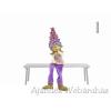 Lógólábú levendula gyerek figura, többféle mintával