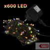 600 LED-es égősor 55221
