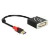 DELOCK Adapter USB 3.0 A-típusú csatlakozódugóval > DVI csatlakozóhüvellyel