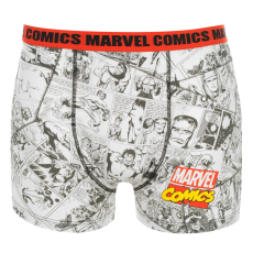 Marvel Single férfi boxeralsó piros L