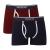 SoulCal Plain férfi alsónadrág tengerészkék XL