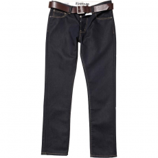 Firetrap férfi farmernadrág - Firetrap Gambit Straight Fit Jeans With Belt
