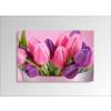Byhome Digital Art vászonkép | 1211-S Tulipe Colore ONE
