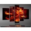 Byhome Digital Art vászonkép | 2061 Fire Flower