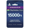 Sony PlayStation Live Card (PS4) 15000 Ft egyenlegfeltöltő kártya (PS719829553) kártyajáték