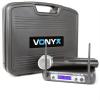 Vonyx Vonyx WM512, 2 csatornás VHF adó rendszer, koffer mellékelve