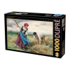 D-Toys Julien Dupre Puzzle, The Harvesting of the Hay, 1000 darabos (5947502872788_DU01)