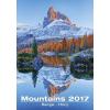 Falinaptár Mountains 31,5x45 cm 2017.évi