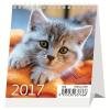 Asztali naptár MINI CICÁK 2017.évi KRENN