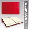 Blokkos asztali naptár B100 BORDÓ 165 x 235 mm 2017. évi