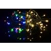 Karácsonyi világító lánc 40 LED - 9 villogó funkció - 3,9 m