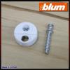 Blum B 42.0700.01 Fehér csavaros összekötő