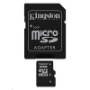 16GB SD HC Micro memória kártya Kingston + adapter (Class 4) (SDC4/16GB)