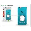 BCN Caseland Apple iPhone 7 Plus szilikon hátlap - BCN Caseland Love - cyan