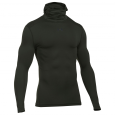 Under Armour Cold Gear Armour férfi kapucnis pulóver zöld S