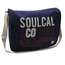 SoulCal Cal férfi válltáska tengerészkék