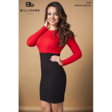 BILLIONBE by bebe 2536A Piros-fekete bebe/2be