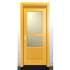 CALLISTO 2/C, borovi fenyő beltéri ajtó 90x210 cm