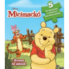 Kolibri Kiadó Disney - Szivacsos kirakókönyv - Micimackó - 5 kirakójáték a kedvenc karaktereiddel