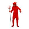 Ördög jelmez szarvakkal - 128-as