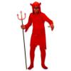 Ördög jelmez szarvakkal - 140-es