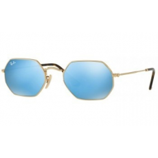 Ray-Ban RB3556N 001/9O GOLD LIGHT BLUE FLASH napszemüveg