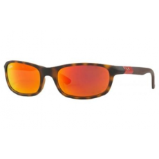 Ray-Ban RJ9056 70266Q MATTE HAVANA FLASH ORANGE napszemüveg