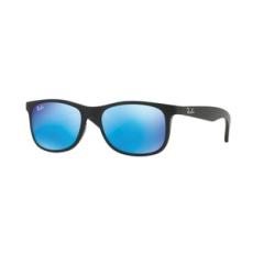 Ray-Ban RJ9062S 701355 MATTE BLACK ON BLACK FLASH BLUE napszemüveg