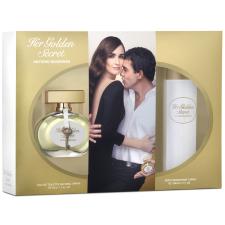 Antonio Banderas Her Golden Secret női parfüm szett (eau de toilette) Edt 50ml+50ml Testápoló kozmetikai ajándékcsomag