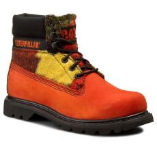 Caterpillar Bakancs CATERPILLAR - Colorado Wool P718914 Red Orange Multi