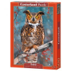 Castorland Puzzle, Great Horned Owl, 500 darabos (5904438052387)