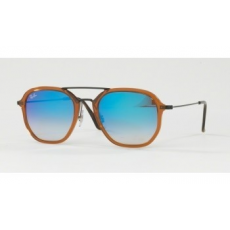Ray-Ban RB4273 62588B SHINY TRASPARENT BROWN BLUE FLASH GRADIENT napszemüveg