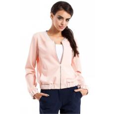 moe Kabát női MOE230 pasztell rózsaszín