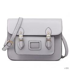 Miss Lulu London LT1665-MISS LULU bőr nagyméretű CAMhíd STLYE táska táska szürke