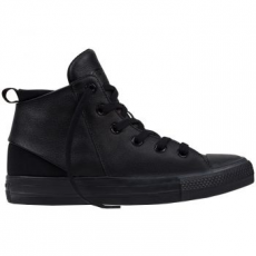Converse Chuck Taylor All Star Sloane Mid Leather női tornacipő, Fekete, 36 (553377C-001-5.5)