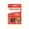 Toshiba Memóriakártya, Micro SDXC, 128GB, Class 10 U3, adapterrel, TOSHIBA