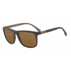 Emporio Armani EA4079 550983 MATTE BROWN POLAR BROWN napszemüveg